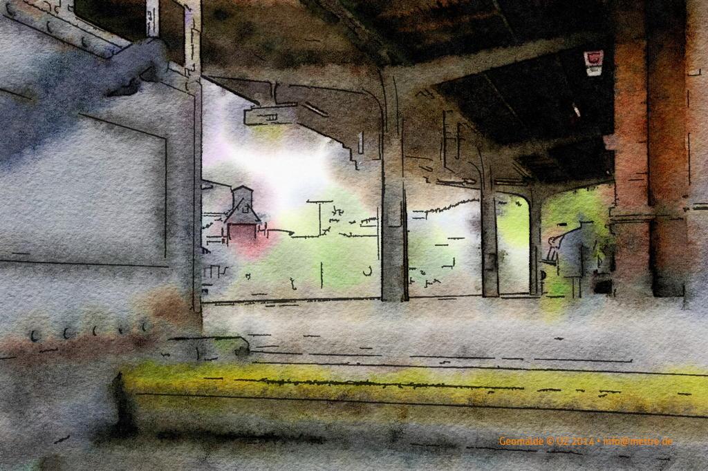 Bahnhof Unterführung