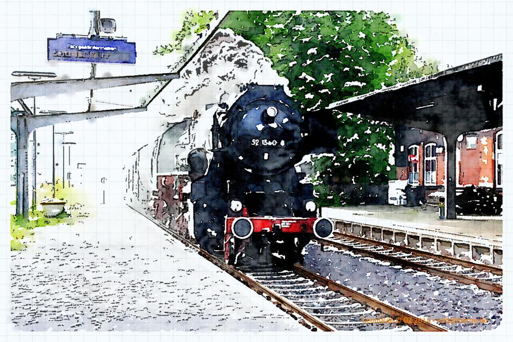 Bahnhof Eisenbahnfreunde Vienenburg