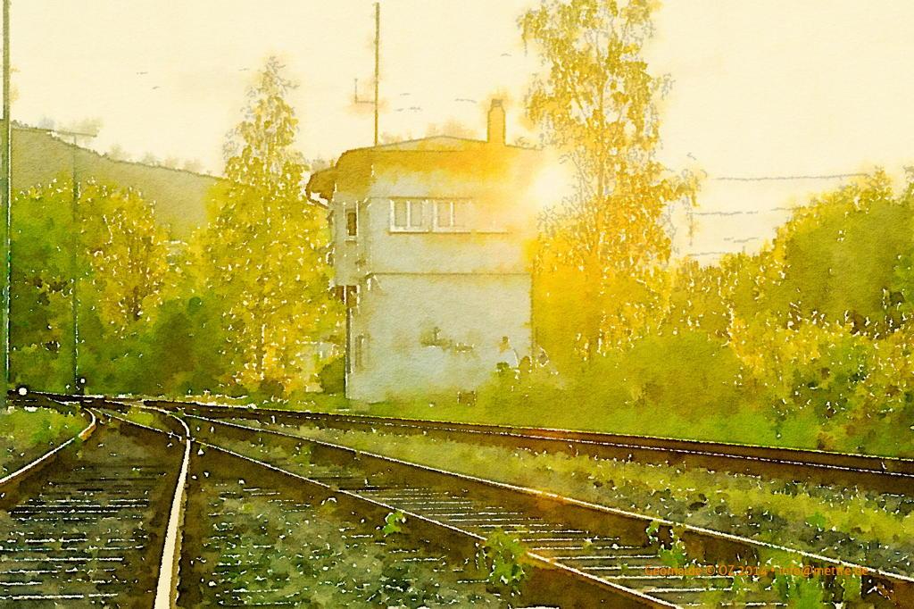Bahn Stellwerk