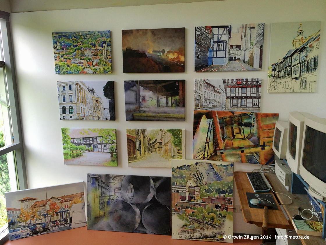 Werkstatt-Wand