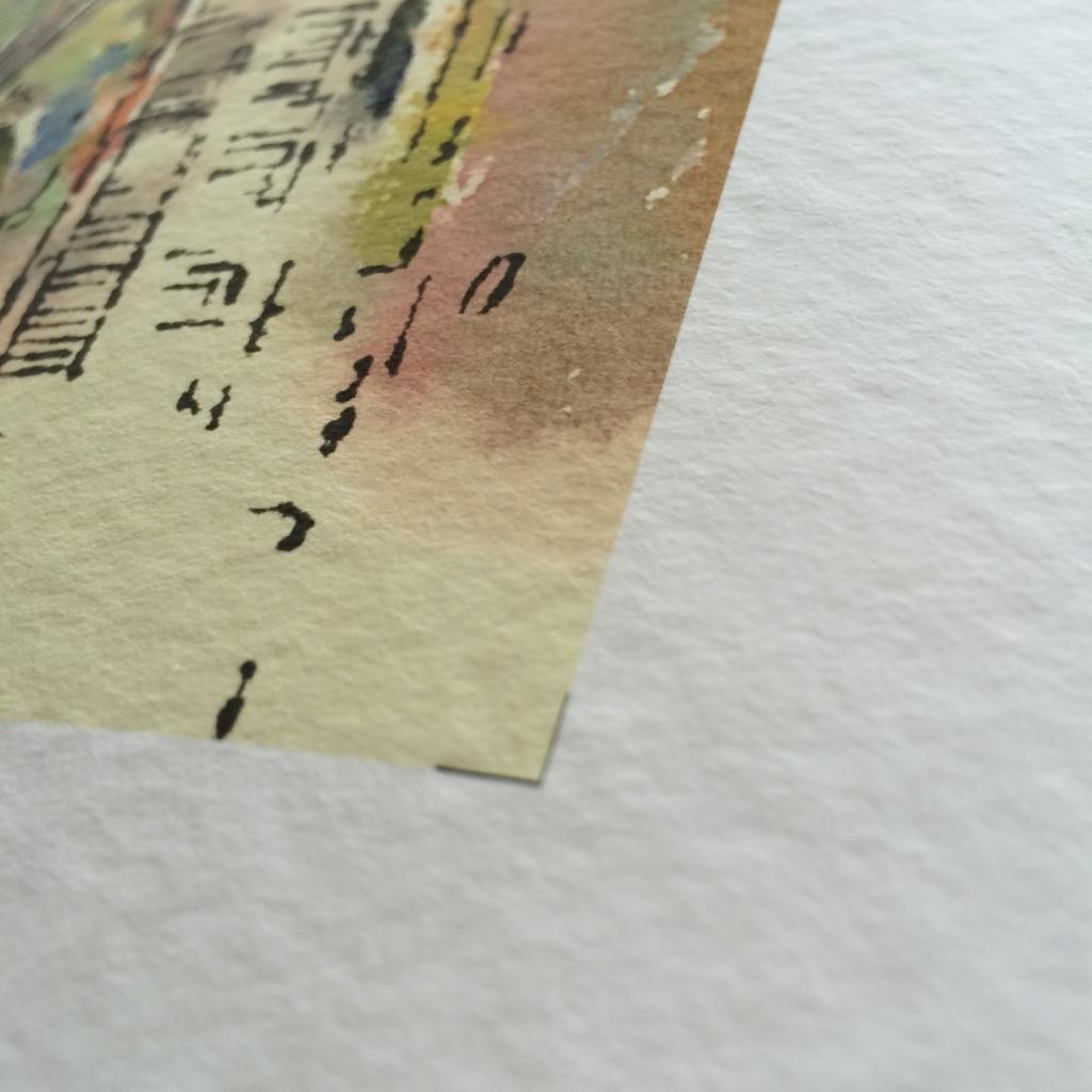 Ausführung auf Aquarell-Papier