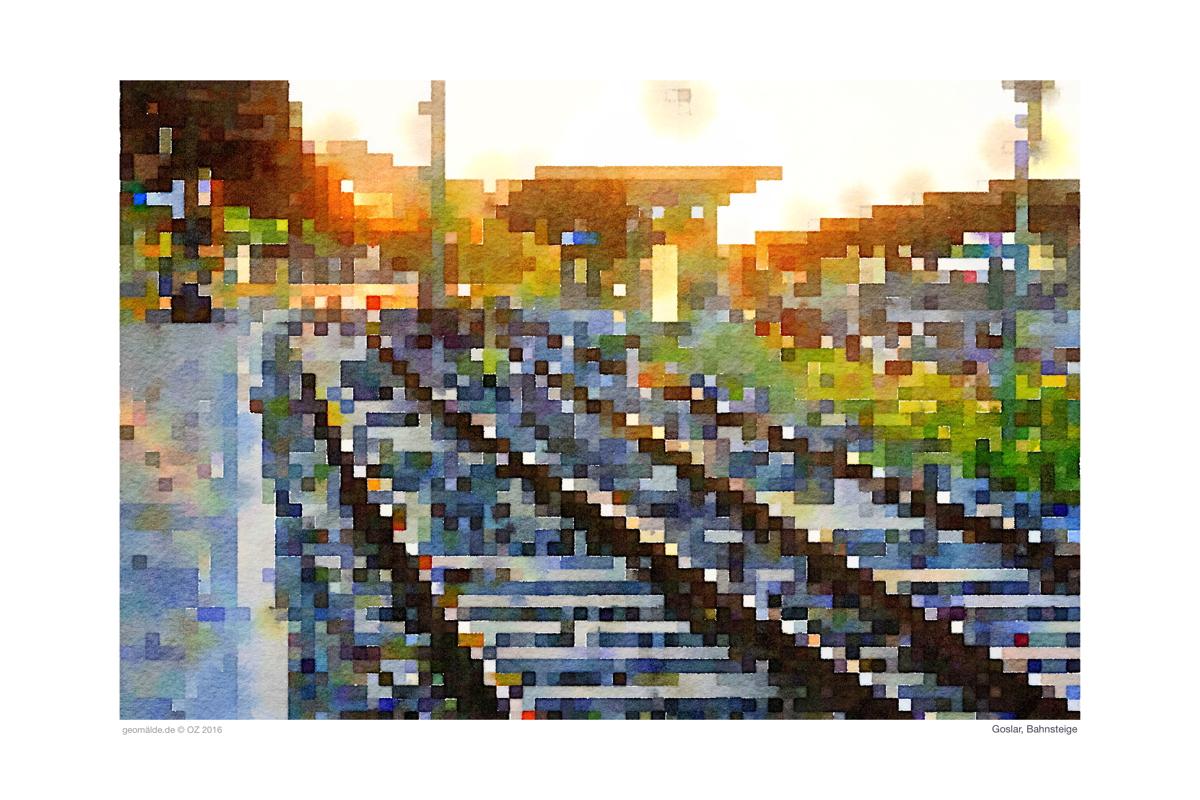 Goslar Bahnsteige